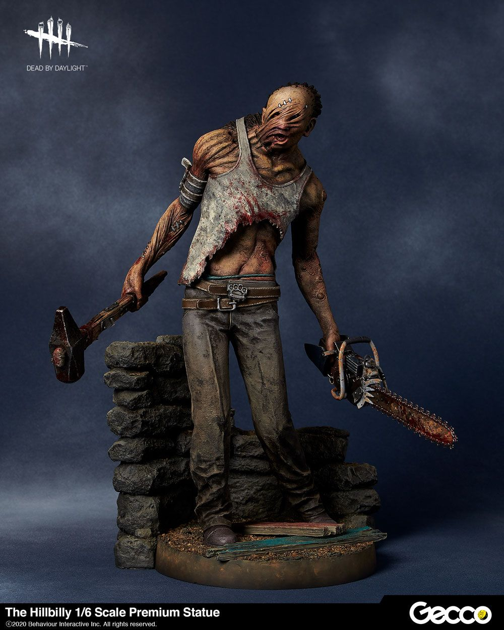 Dead by Daylight PVC Statue 1/6 The Hillbilly 31 cm