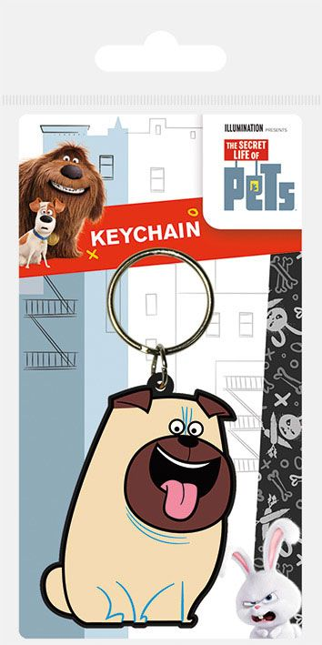 Secret Life of Pets Rubber Keychain Mel 6 cm