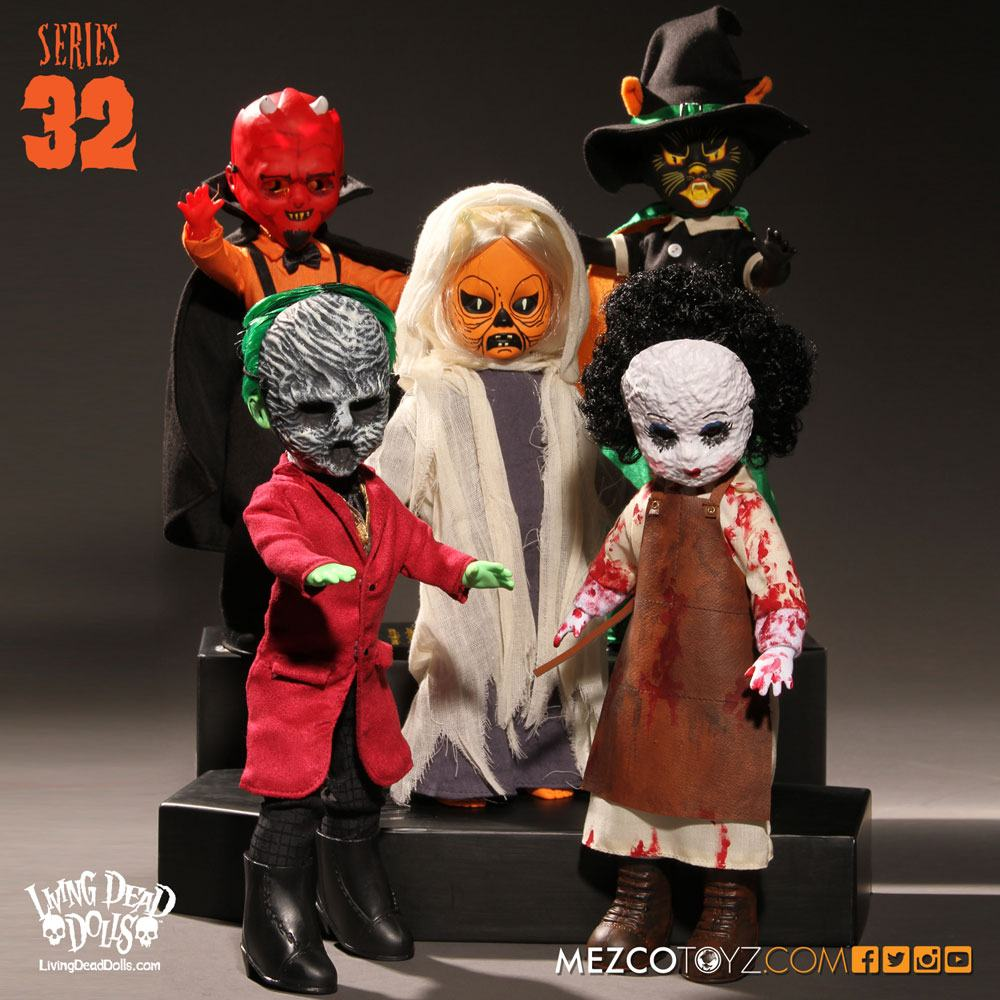 Living Dead Dolls Series 32 Dolls 25 cm Assortment (5)