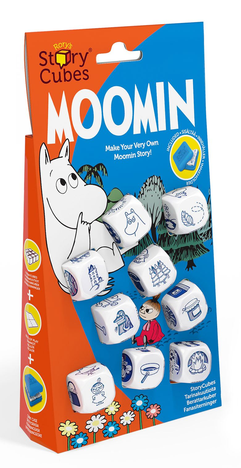 Moomins Dice Game Rory's Story Cubes Storyworlds