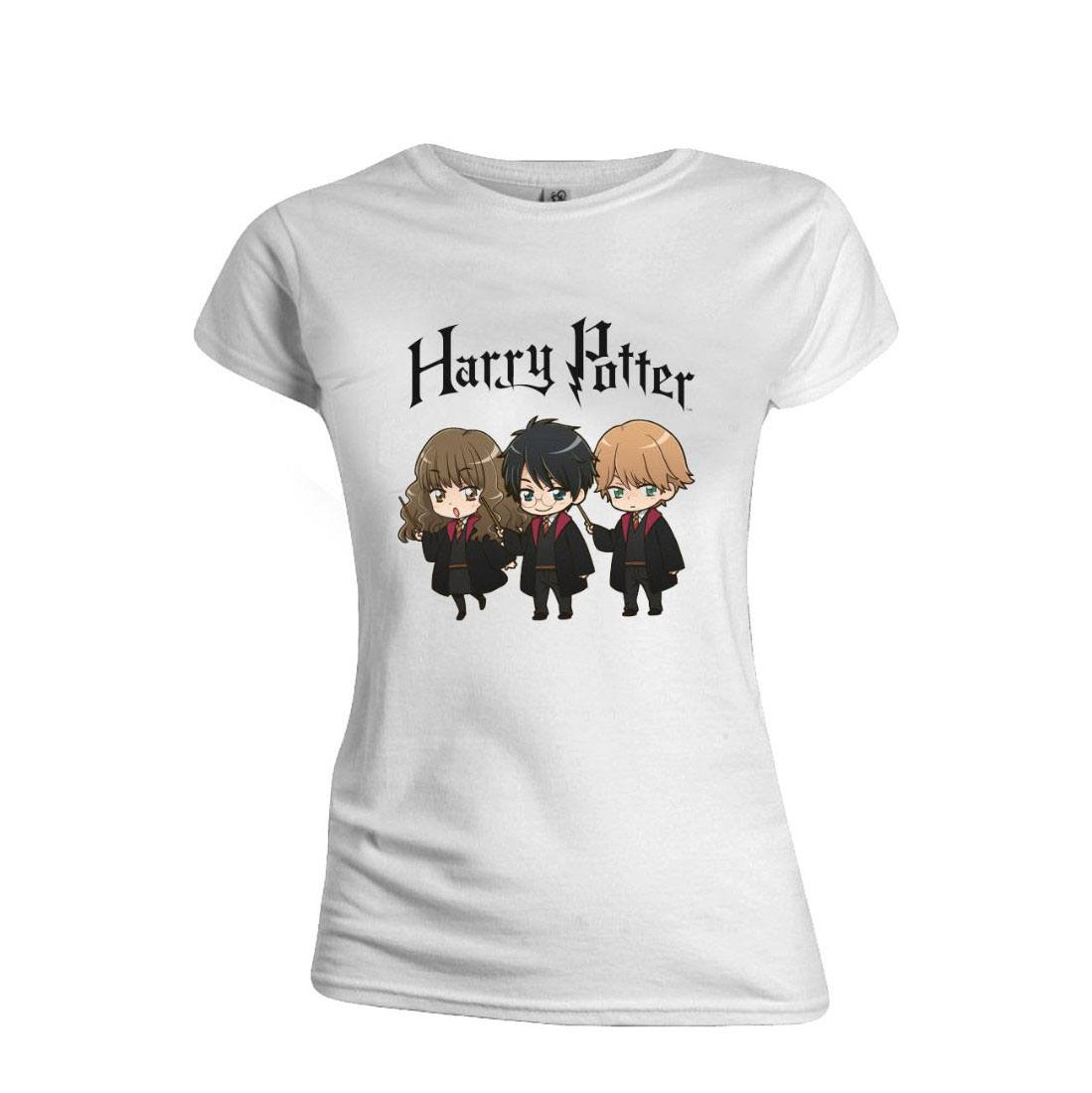 Harry Potter Ladies T-Shirt Characters Size M