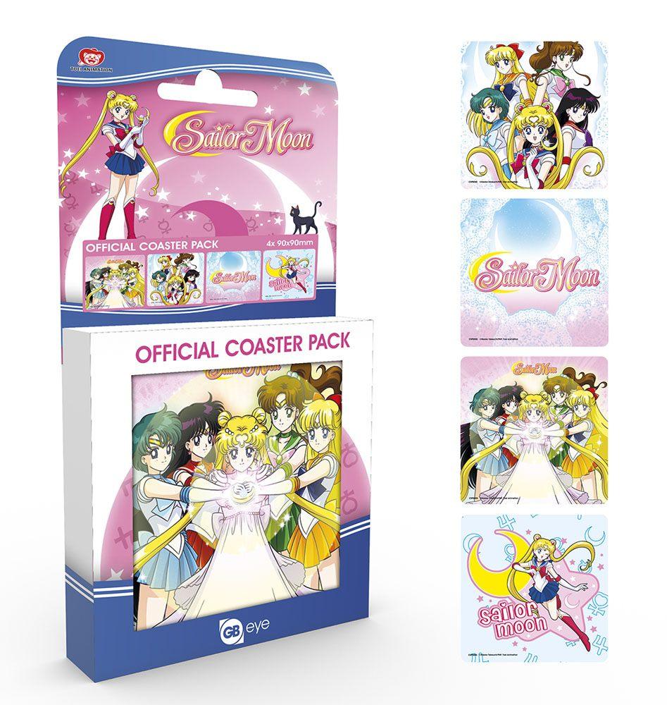 Sailor Moon Coaster Mix 4-Pack