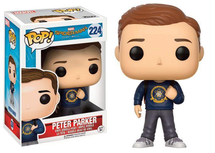 Spider-Man Homecoming POP! Marvel Vinyl Figure Peter Parker 9 cm