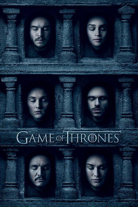 Game of Thrones Poster Pack Hall Of Faces 61 x 91 cm (5)