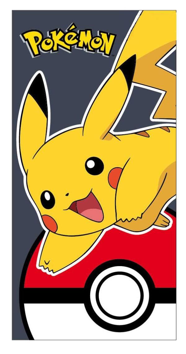 Pokemon Towel Pikachu & Pokeball 140 x 70 cm