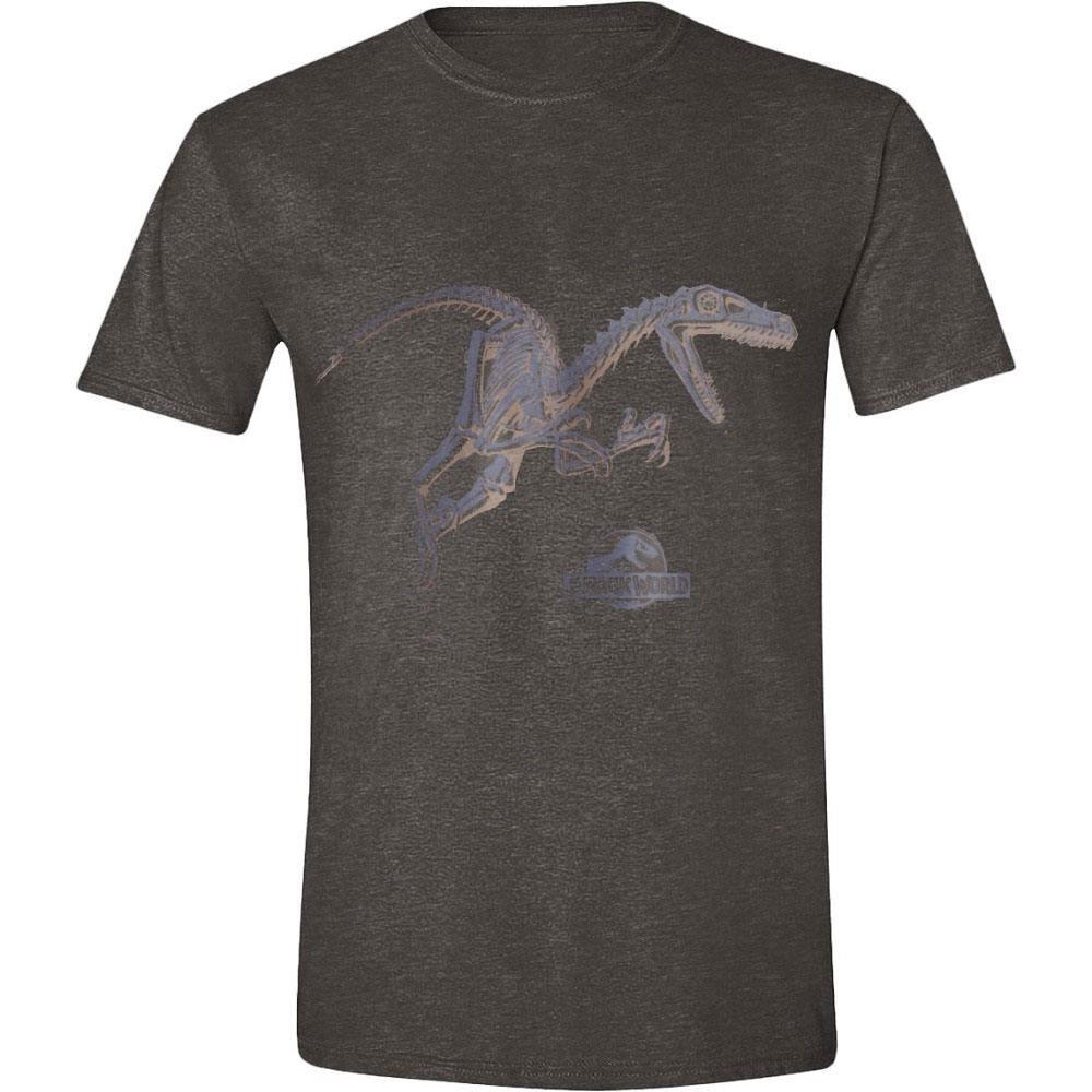Jurassic World T-Shirt Blue Raptor  Size L