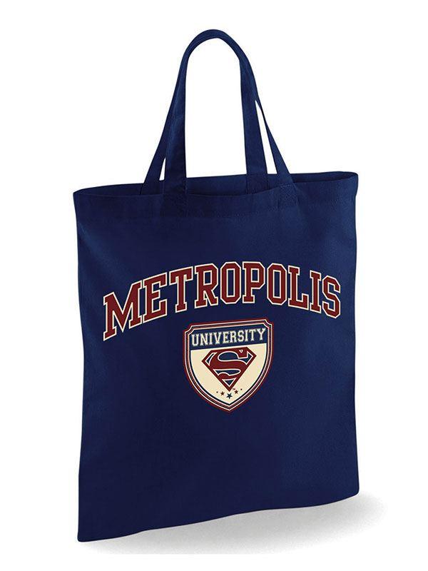 Superman Tote Bag Metropolis University