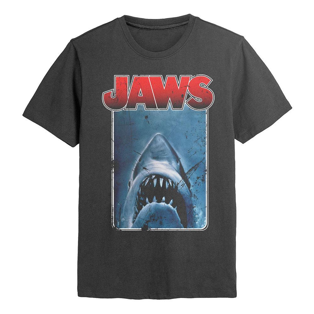 Jaws T-Shirt Poster Cutout Size M