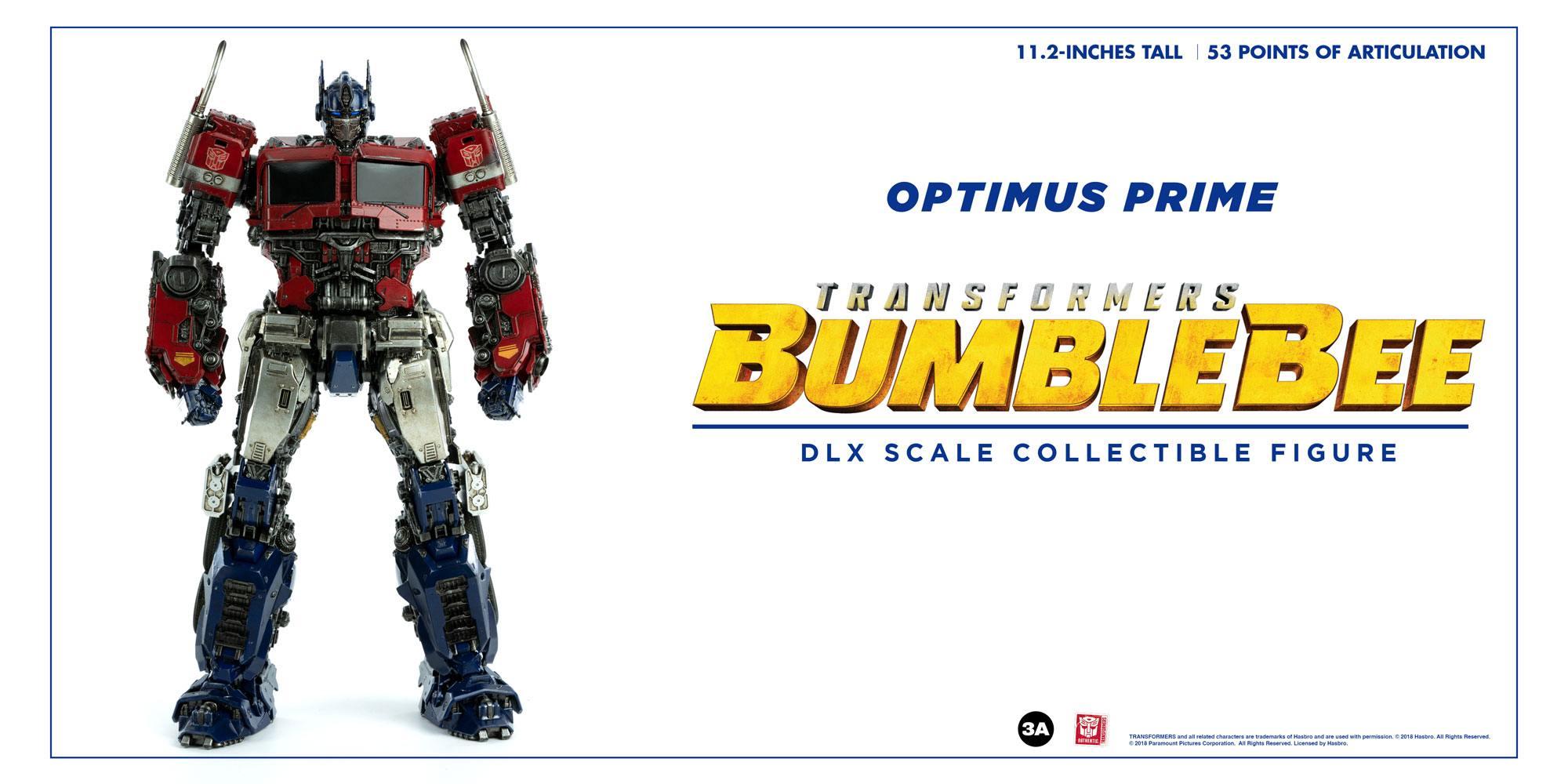 Bumblebee DLX Scale Action Figure Optimus Prime 28 cm