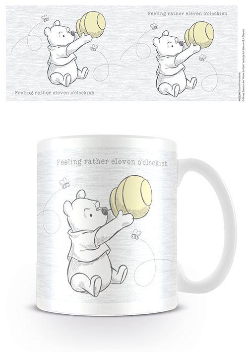 Winnie the Pooh Mug Eleven o'clockish