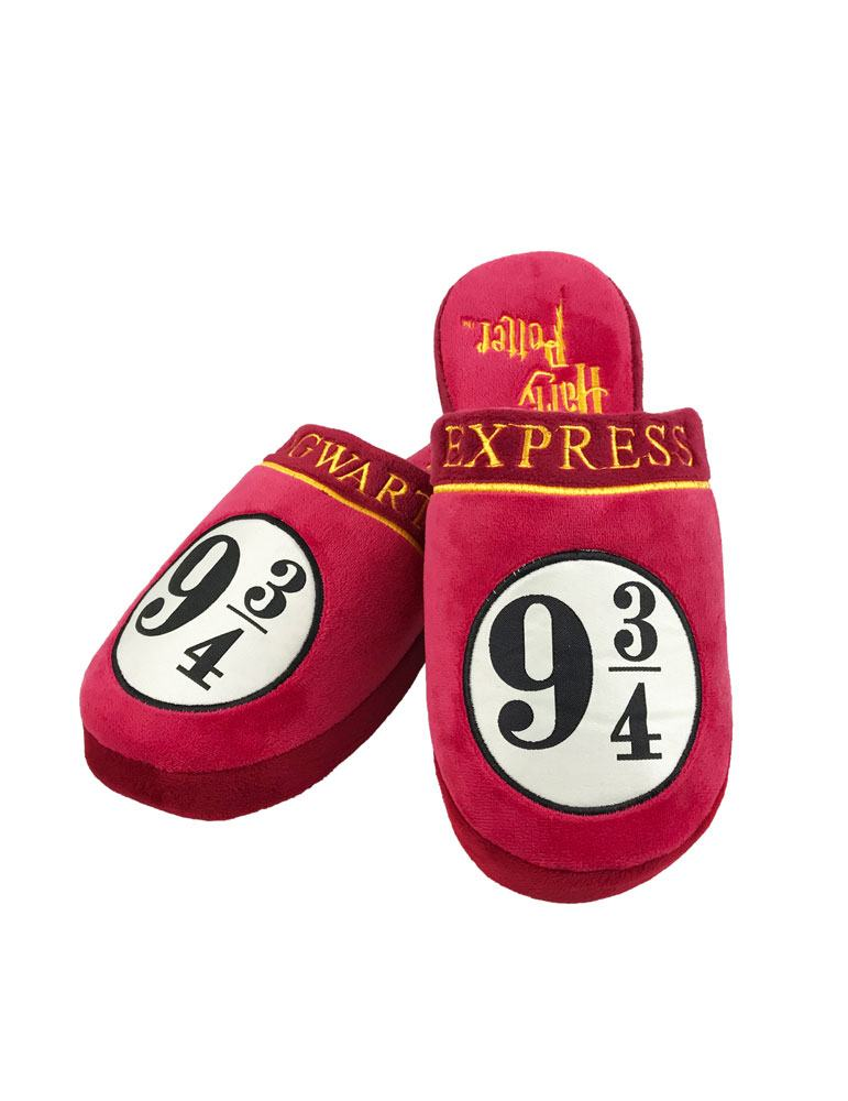 Harry Potter Slippers 9 3/4 Hogwarts Express Size L