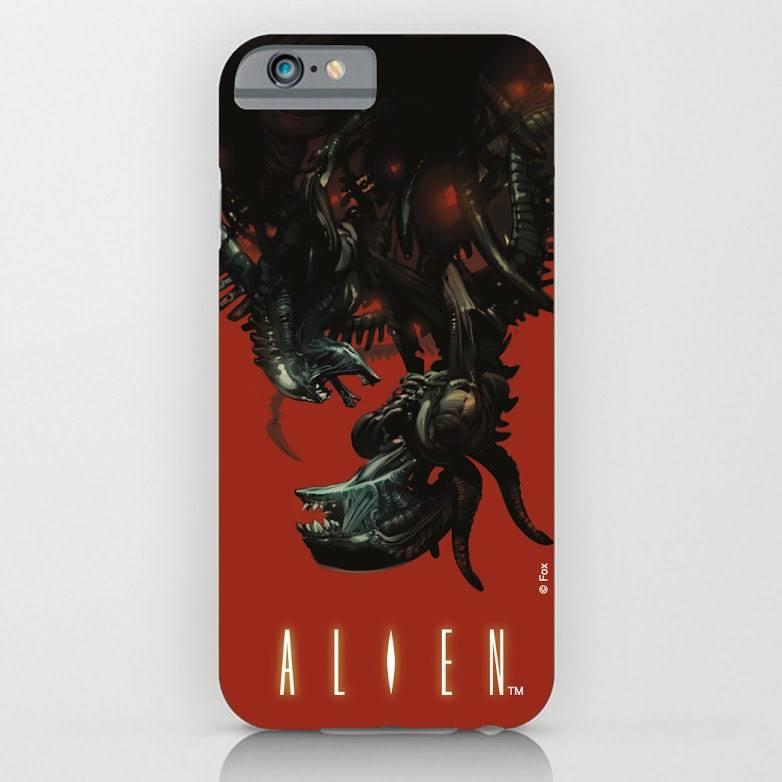 Alien iPhone 6 Plus Case Xenomorph Upside-Down