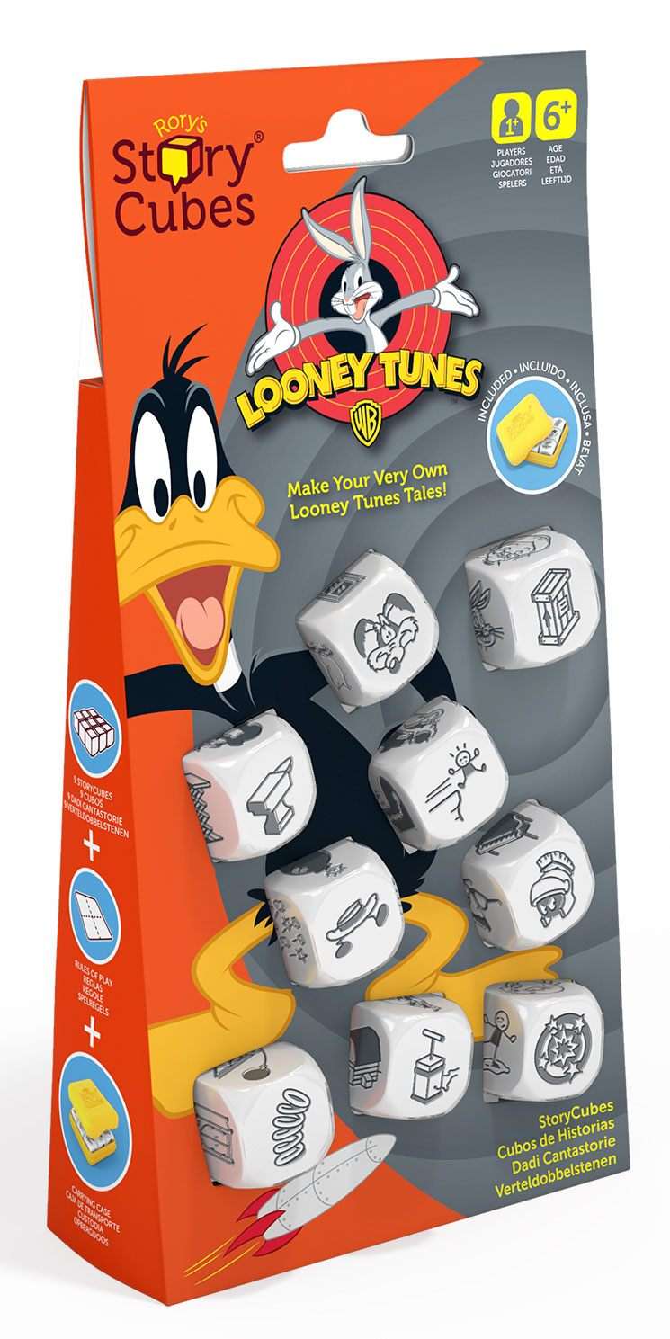 Looney Tunes Dice Game Rory's Story Cubes Storyworlds