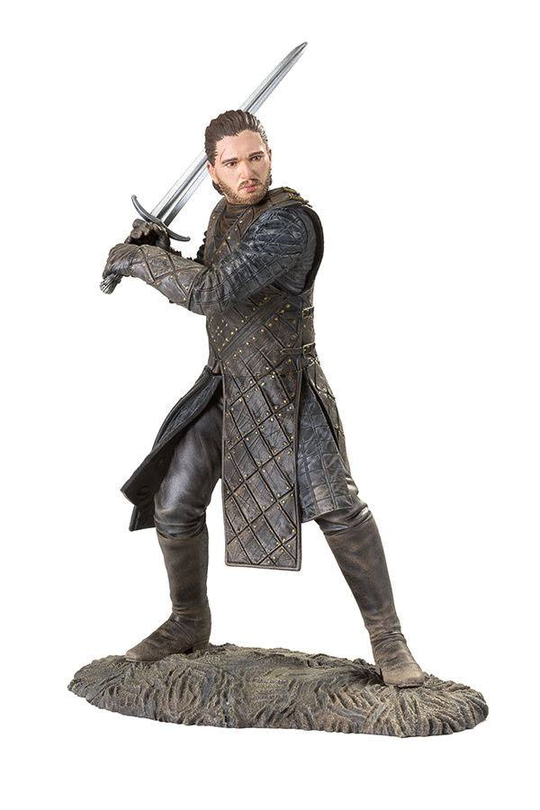 Game of Thrones PVC Statue Jon Snow Battle of the Bastards 20 cm