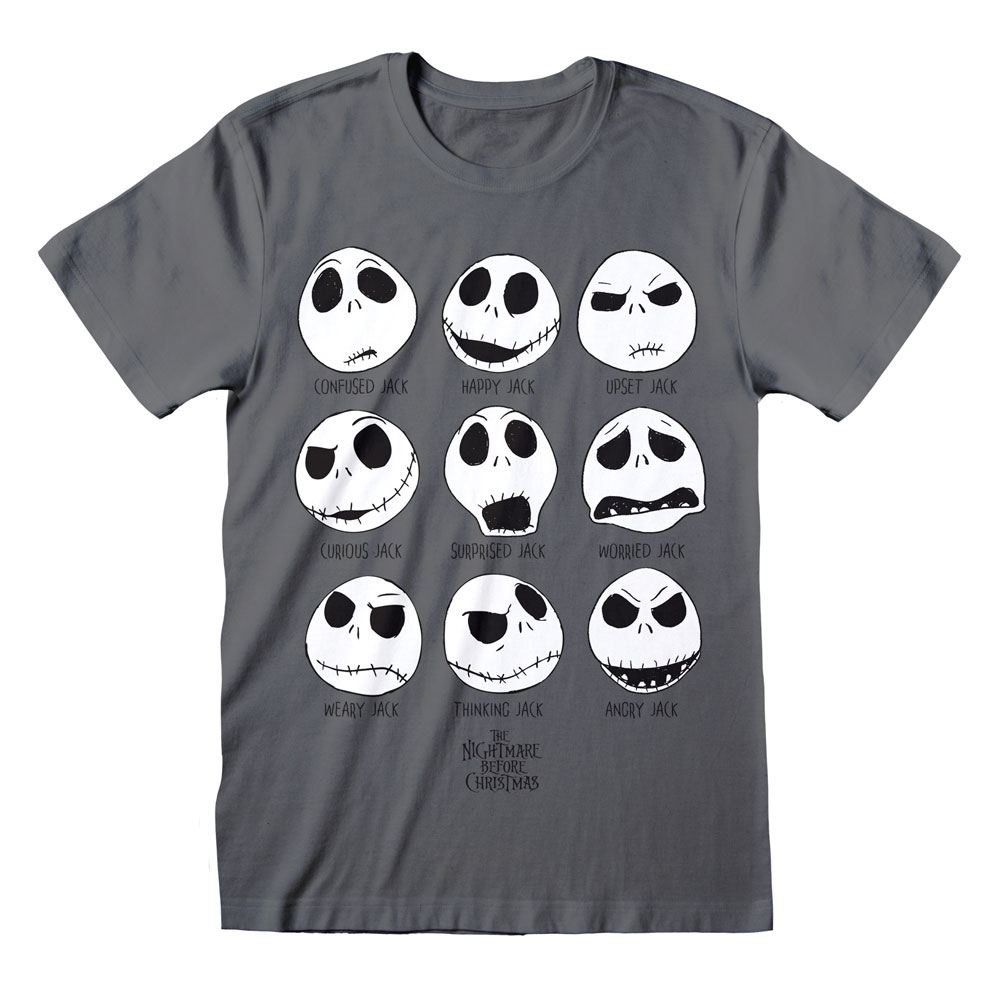 Nightmare before Christmas T-Shirt Many Faces Of Jack Size L
