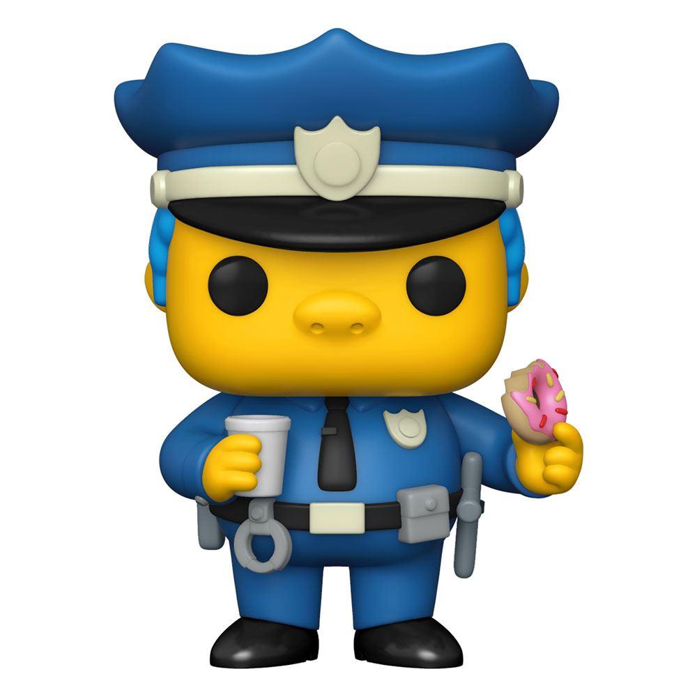 Simpsons POP! Animation Vinyl Figure Chief Wiggum 9 cm