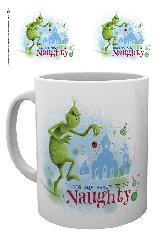 The Grinch (2018) Mug Get Naughty