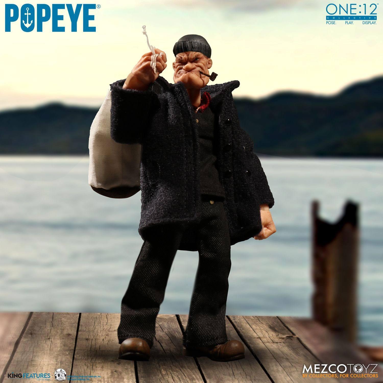 Popeye Action Figure 1/12 Popeye 14 cm