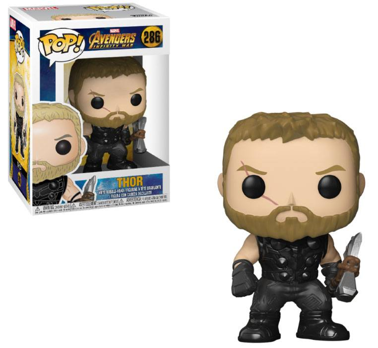 Avengers Infinity War POP! Movies Vinyl Figure Thor 9 cm