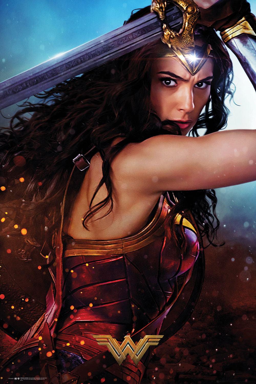 Wonder Woman Poster Pack Defend 61 x 91 cm (5)