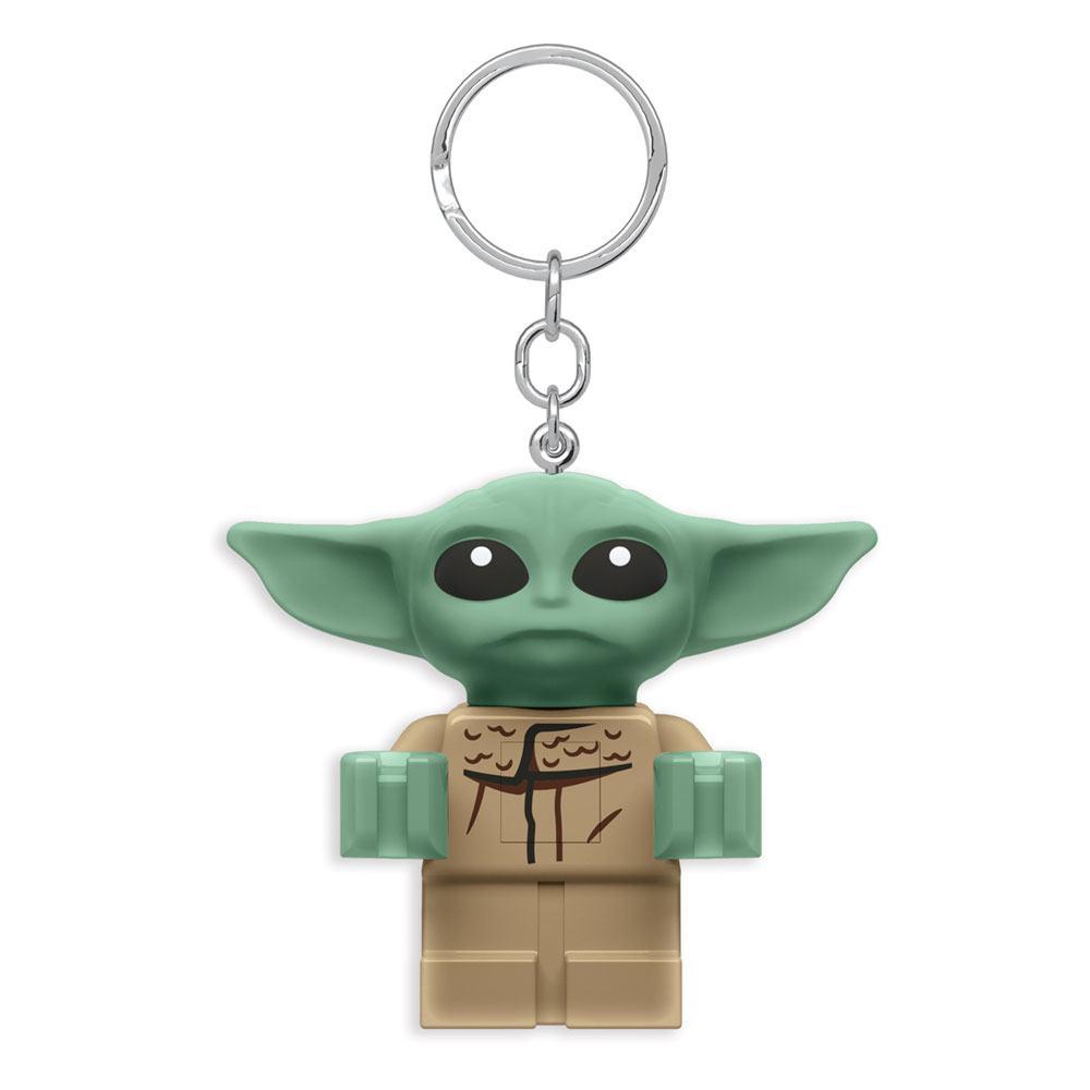 LEGO Star Wars The Mandalorian Light-Up Keychain Baby Yoda 6 cm