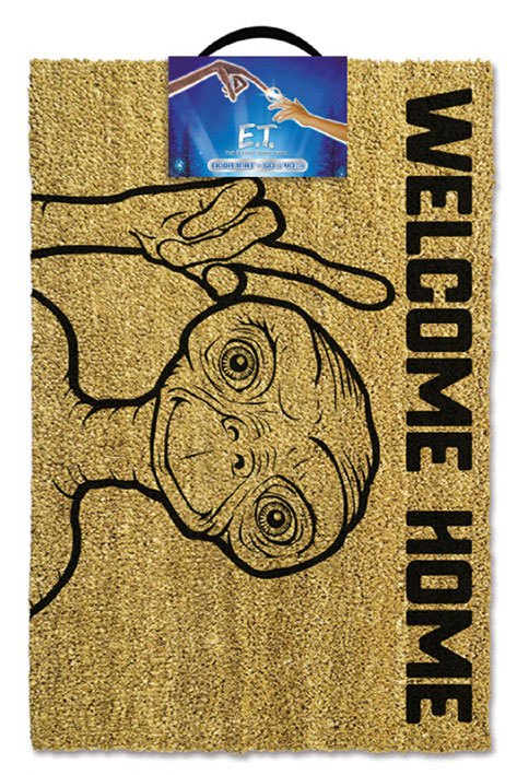 E.T. the Extra-Terrestrial Doormat Welcome Home 40 x 57 cm