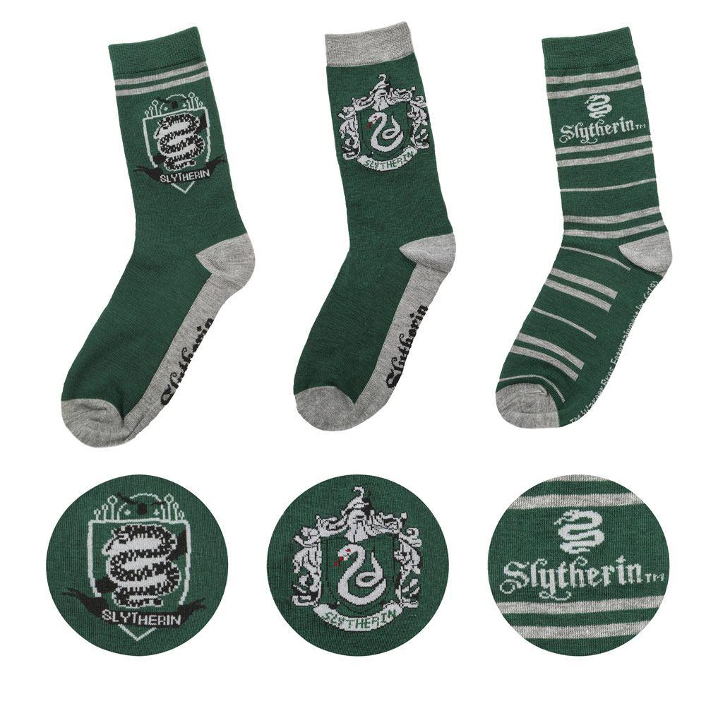Harry Potter Socks 3-Pack Slytherin