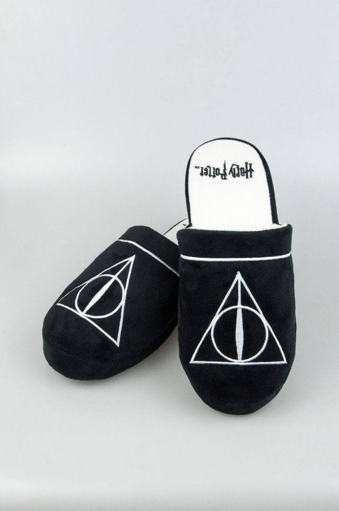 Harry Potter Slippers Deathly Hallows Size L