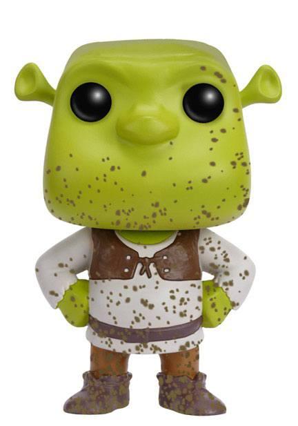 Shrek POP! Movies Vinyl Figure Shrek (Mud Splatter) 9 cm