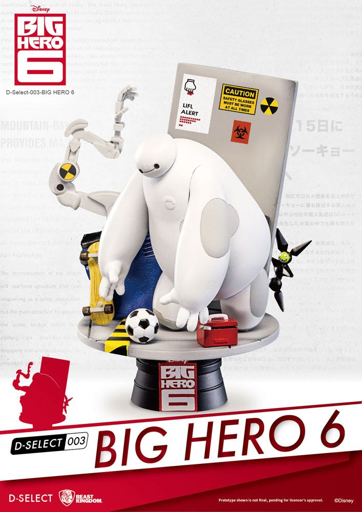Big Hero 6 D-Select Diorama 15 cm