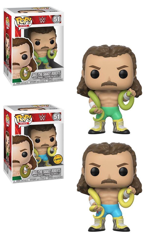 WWE POP! Figures Jake the Snake 9 cm Assortment (6)
