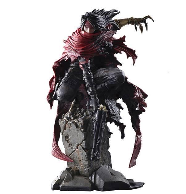 Final Fantasy VII Static Arts Gallery Statue Vincent Valentine 15 cm