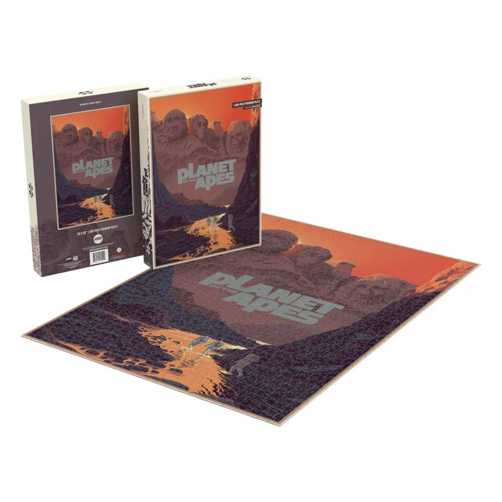 Planet of the Apes Jigsaw Puzzle Mount Rushmore (1000 pieces)