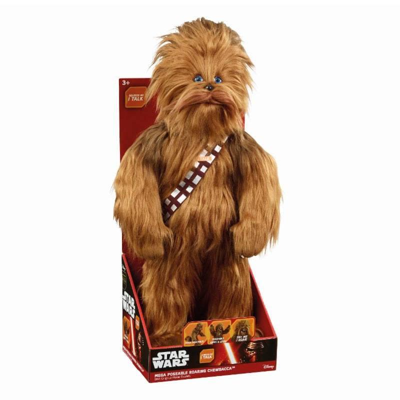 Star Wars Mega Poseable Talking Plush Figure Roaring Chewbacca 61 cm *English Version*