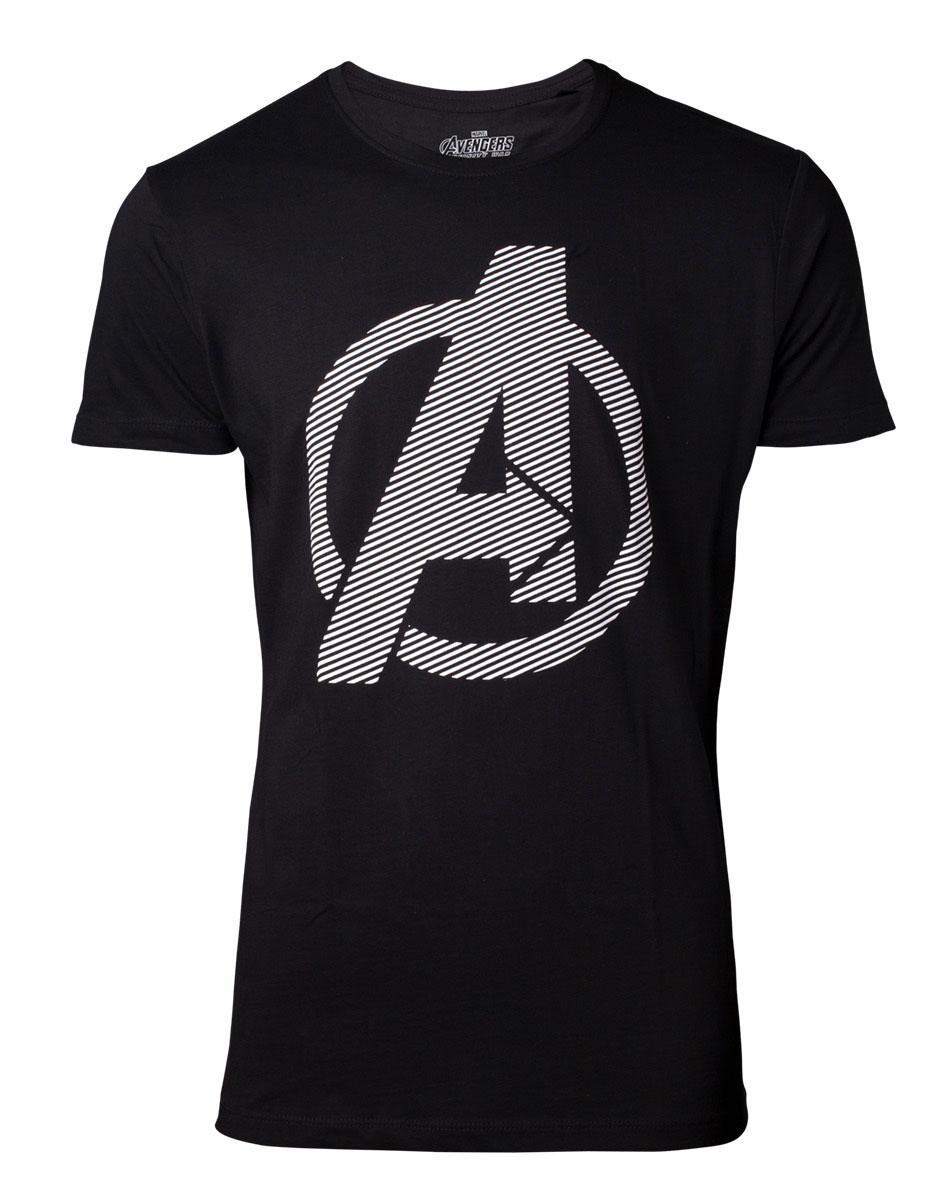 Avengers Infinity War T-Shirt Logo Size M