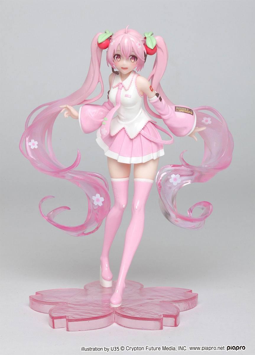 Vocaloid PVC Statue Hatsune Miku Sakura Miku 18 cm