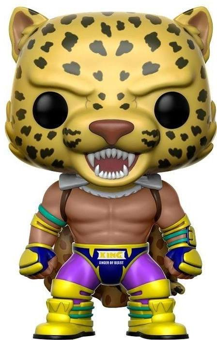 Tekken POP! Games Vinyl Figure Tekken King (Caped) 9 cm