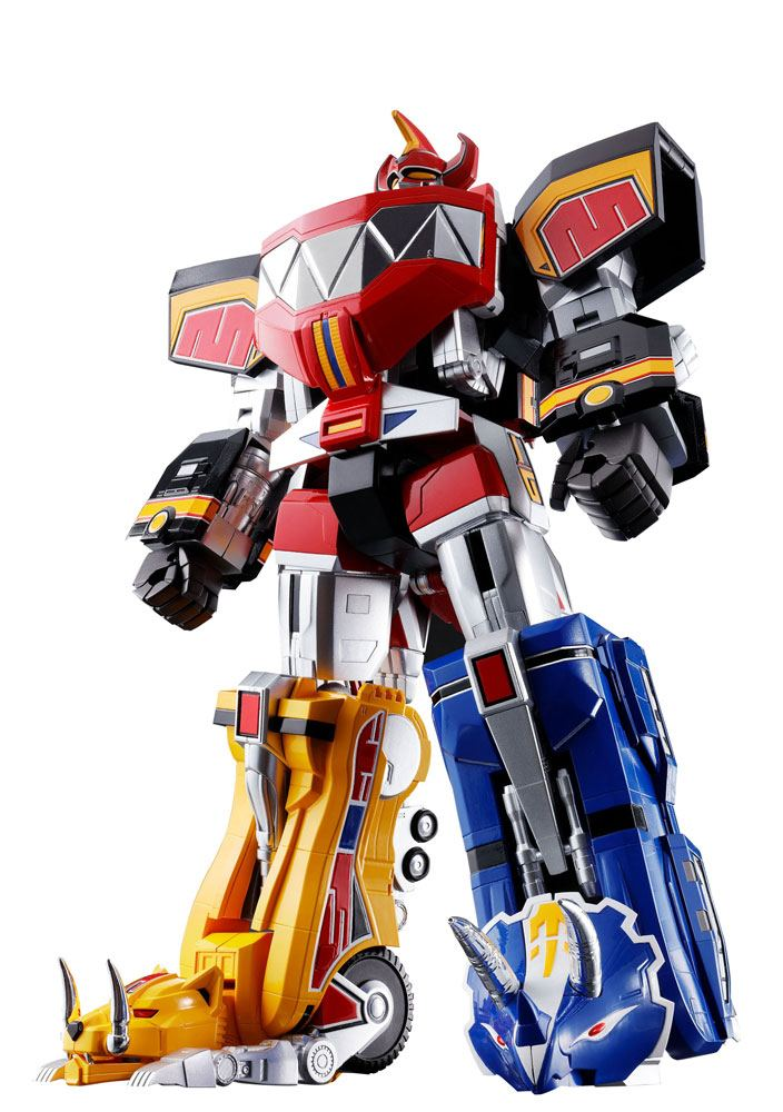 Mighty Morphin Power Rangers Chogokin Diecast Action Figure 5-Pack GX-72 Megazord 26 cm