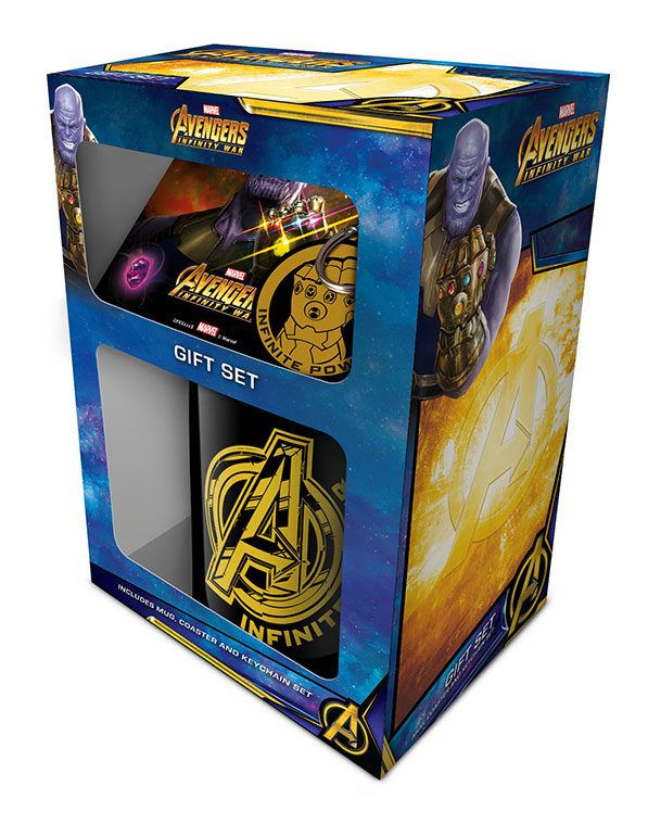 Avengers Infinity War Gift Box --- DAMAGED PACKAGING
