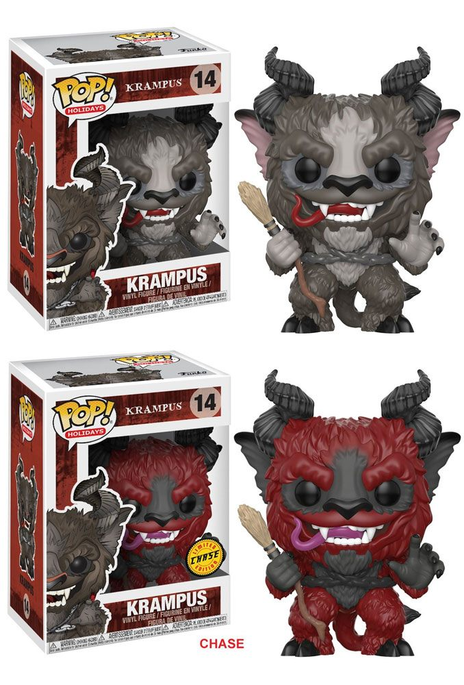 Krampus POP! Holiday Vinyl Figuren Krampus 9 cm Assortment (6)