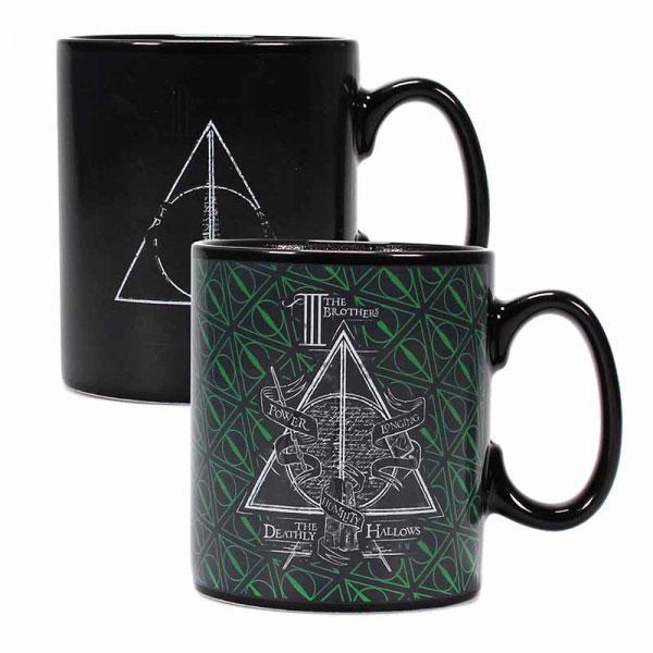 Harry Potter Heat Change Mug Deathly Hallows