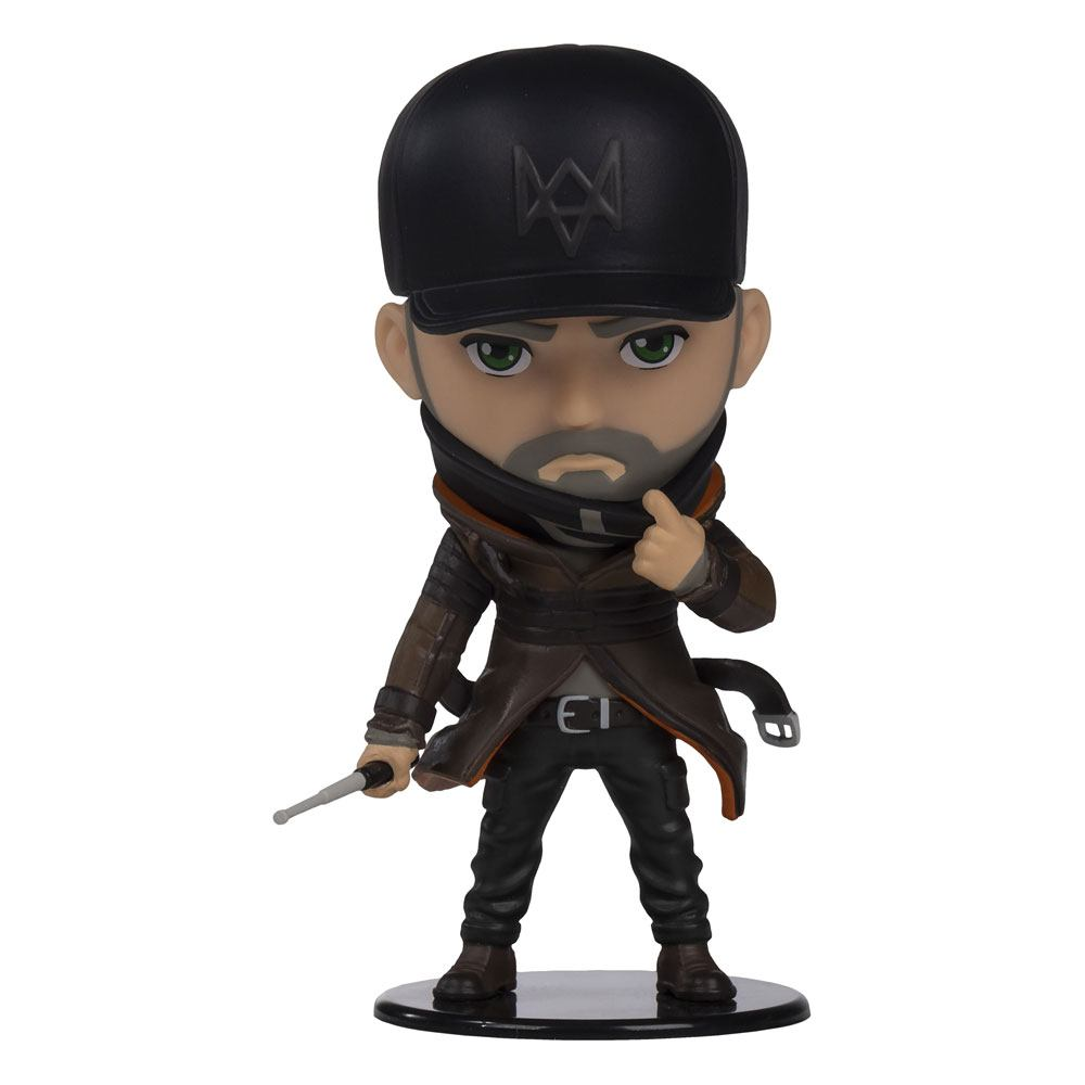 Watch Dogs Ubisoft Heroes Collection Chibi Figure Aiden Pearce 10 cm