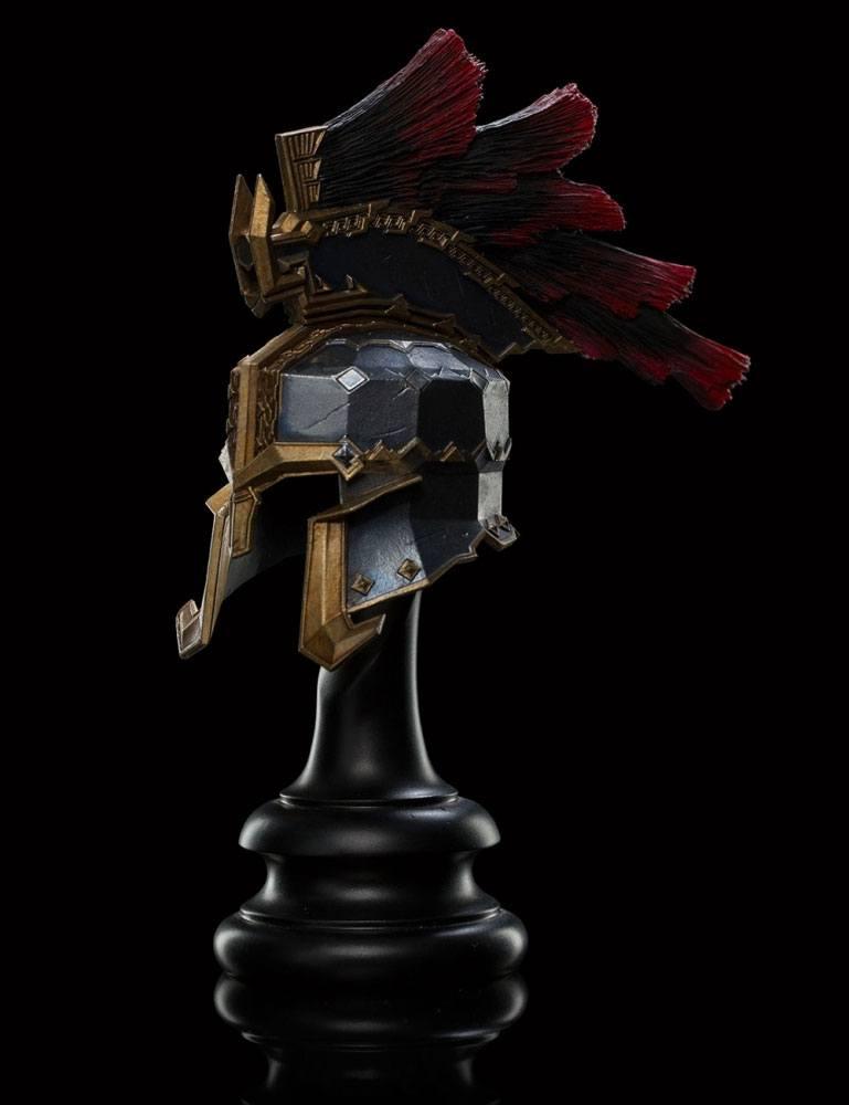 The Hobbit The Battle of the Five Armies Replica War Helm of Dain Ironfoot 18 cm