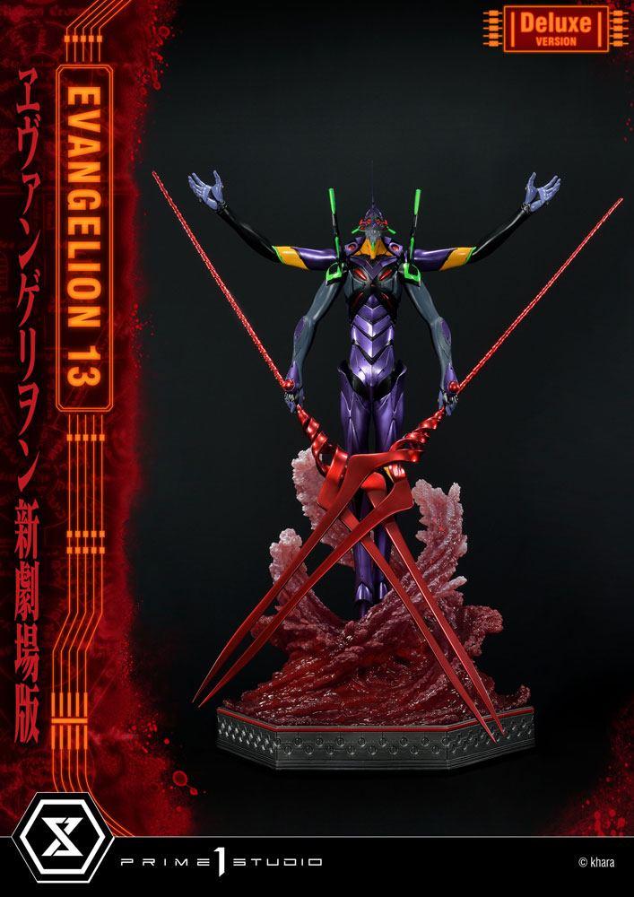 Neon Genesis Evangelion Statue Evangelion Unit 13 Deluxe Version 161 cm