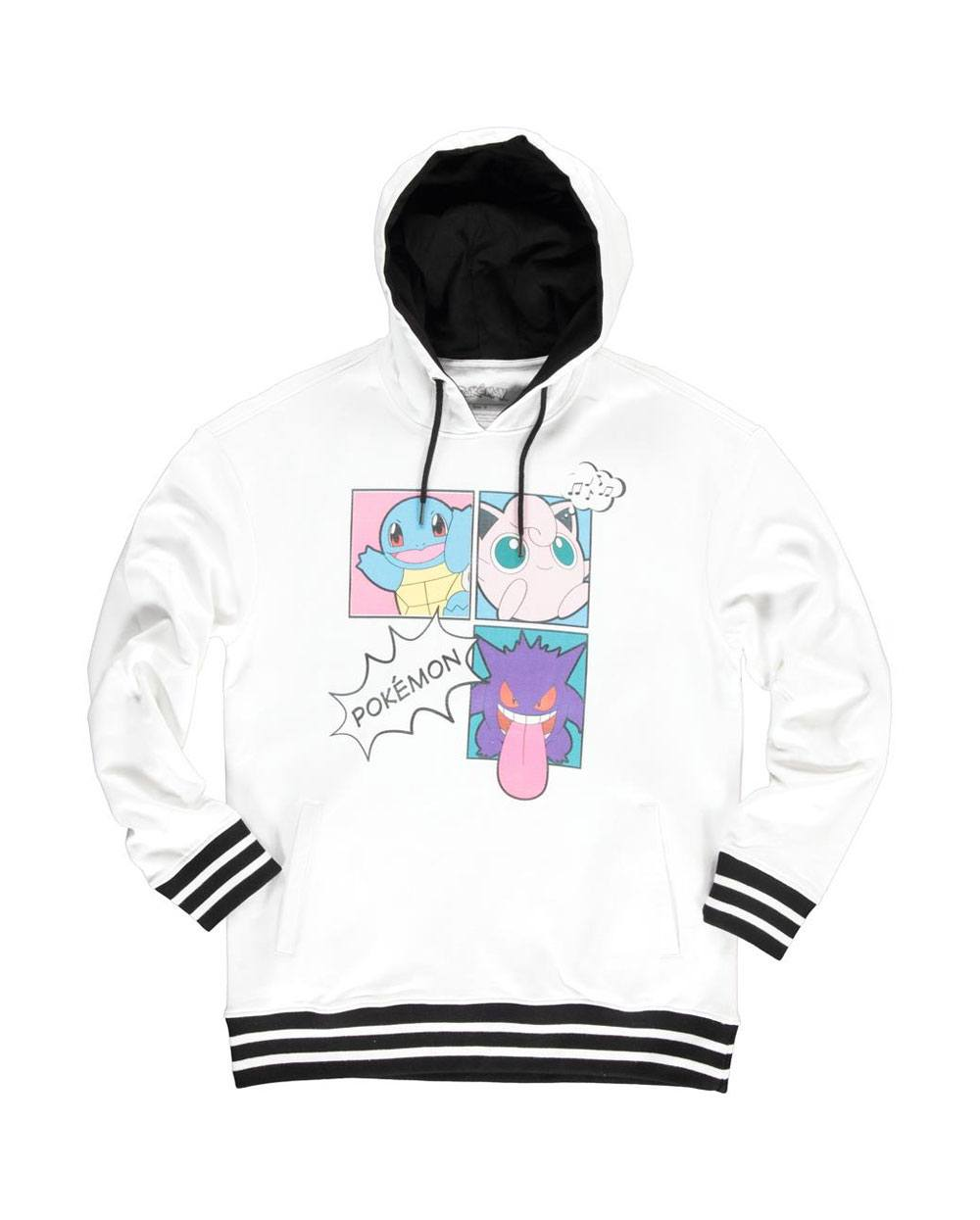 Pokémon Ladies Hooded Sweater Pop Art Group Size L