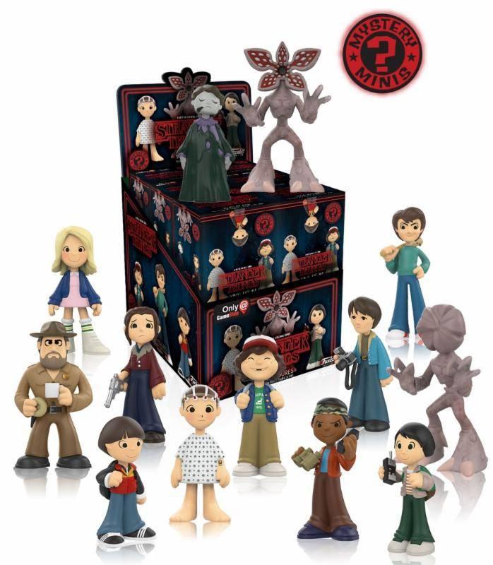 Stranger Things Mystery Minis Vinyl Mini Figures 6 cm Display Exclusive (12)
