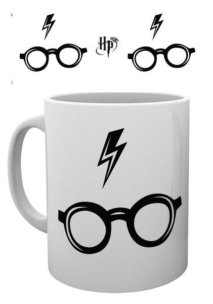Harry Potter Mug Glasses