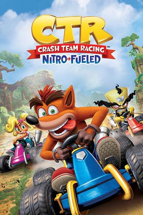 Crash Team Racing Poster Pack Race 61 x 91 cm (5)