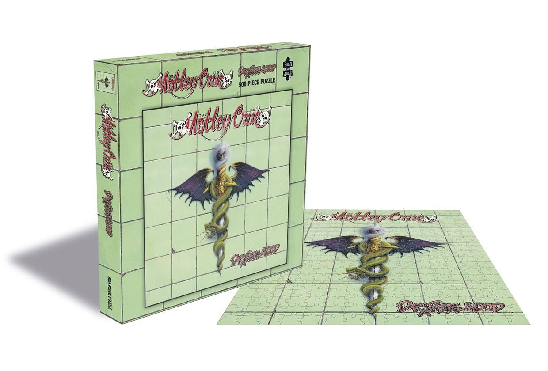 Mötley Crüe Puzzle Dr. Feelgood