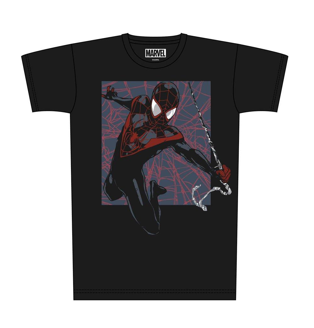 Spider-Man T-Shirt Web Print Size L